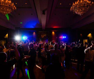 DJ Jason Rullo Packed Dance Floor